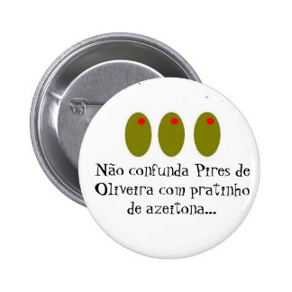 olive 3 meetings, does not confuse Saucers of Oliv 2 Inch Round Button