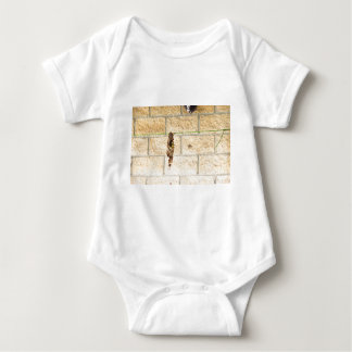 OLIVE BACKED BIRD QUEENSLAND AUSRALIA BABY BODYSUIT