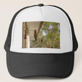 OLIVE BACKED BIRD QUEENSLAND AUSTRALIA TRUCKER HAT