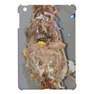 OLIVE BACKED SUNBIRD IN NEST AUSTRALIA iPad MINI CASES