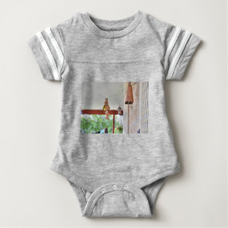 OLIVE BACKED SUNBIRD QUEENSLAND AUSTRALIA BABY BODYSUIT