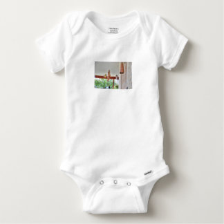 OLIVE BACKED SUNBIRD QUEENSLAND AUSTRALIA BABY ONESIE