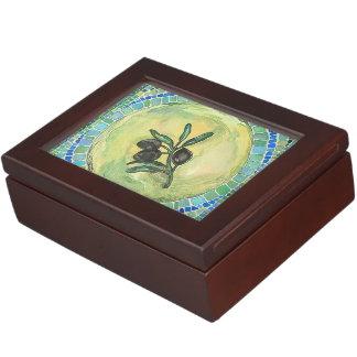 Olive branch - box memory box