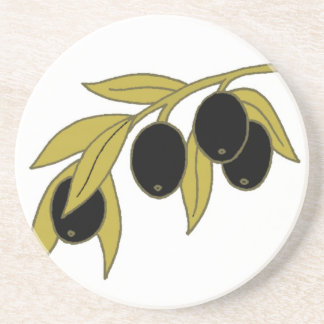 Olive Branch Coaster