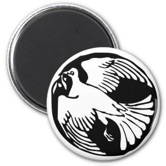 Olive Branch Peace Dove Fridge Magnet