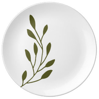Olive Branch Plate