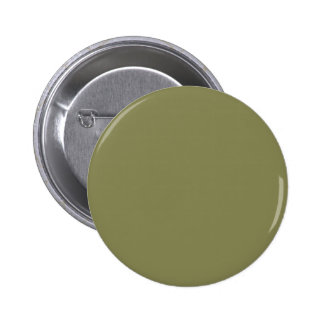 Olive Color 2 Inch Round Button
