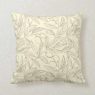 Olive Decorative Throw Pillow in Banana Yellow