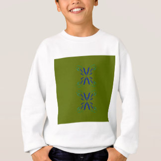 OLIVE DESIGN ELEMENTS SWEATSHIRT