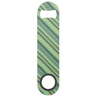 Olive green diagonal stripes bar key