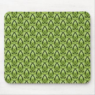 Olive Green Fashion Forward Mousepad
