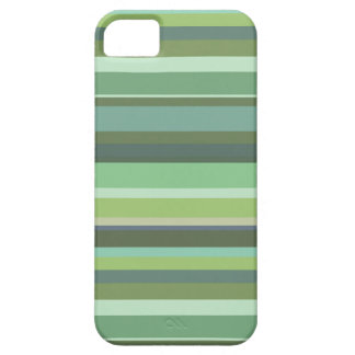 Olive green horizontal stripes iPhone 5 case