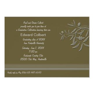 Olive Green Invitation