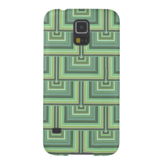 Olive green stripes square scales pattern galaxy s5 cases