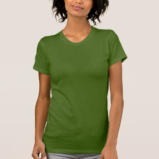 OLIVE green : Women's Racerback Shirts