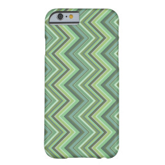 Olive green zigzag stripes barely there iPhone 6 case