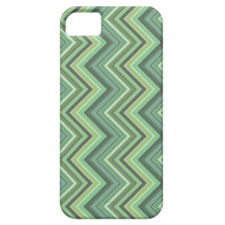 Olive green zigzag stripes case for the iPhone 5