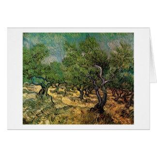 Olive Grove, Vincent van Gogh Card