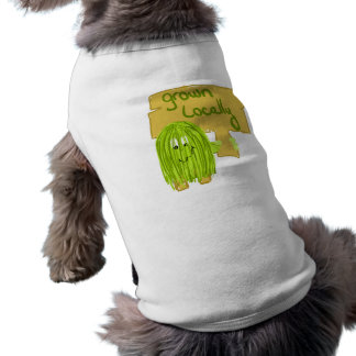 Olive grown locally doggie shirt