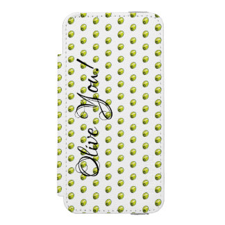 Olive Incipio Watson™ iPhone 5 Wallet Case