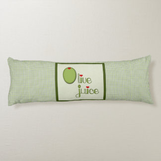 Olive Juice Body Pillow