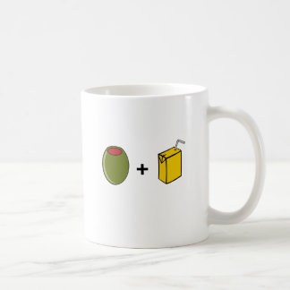 Olive Juice I Love You Coffee Mug