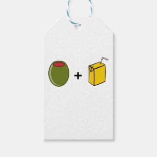 Olive Juice I Love You Gift Tags