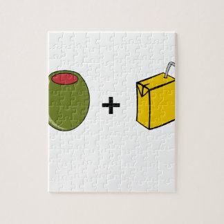 Olive Juice I Love You Jigsaw Puzzle