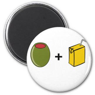 Olive Juice I Love You Magnet