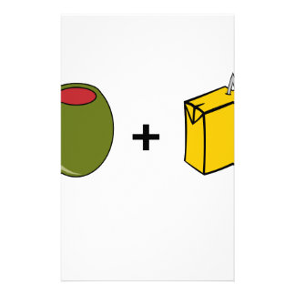 Olive Juice I Love You Stationery