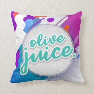 Olive Juice Throw Pillow