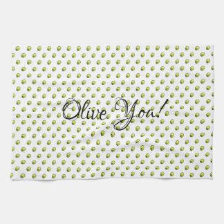 Olive Kitchen Towel