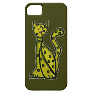Olive le chat vert coque Case-Mate iPhone 5