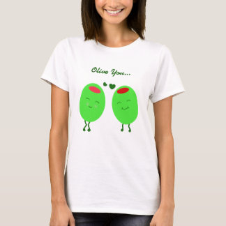 Olive Love You Shirt