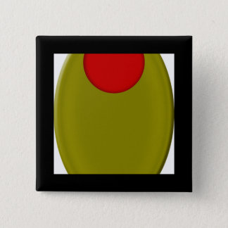 Olive Merchandise 2 Inch Square Button