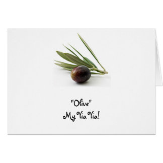 """Olive"" My Yia Yia! Card"