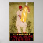 Olive Oil Vintage Food  Ad  Art Print
