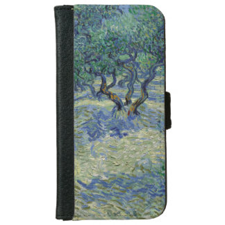 Olive Orchard by Vincent Van Gogh iPhone 6 Wallet Case