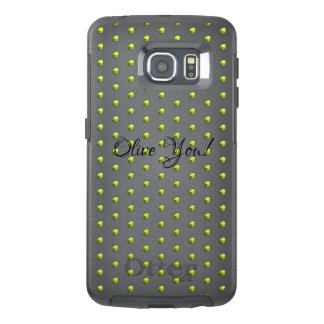 Olive OtterBox Samsung Galaxy S6 Edge Case