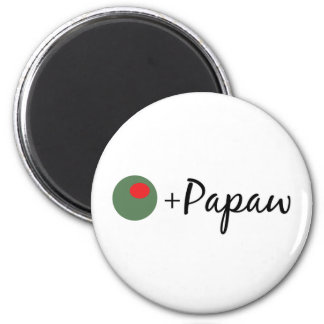 Olive Papaw Magnet