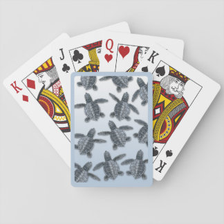 Olive Ridley Sea Turtle Hatchlings Playing Cards