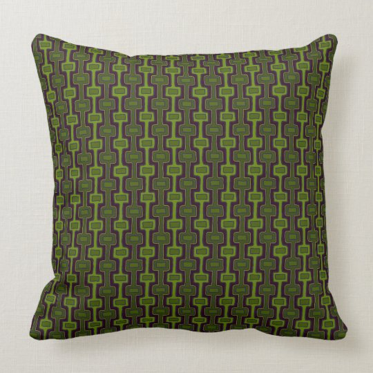 Olive This Pillow, Mix & Match - GreenBerry 2 Side Throw Pillow