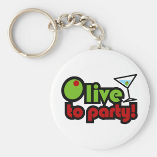 Olive to Party! Keychain