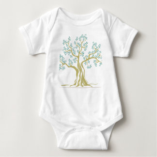 Olive tree baby bodysuit