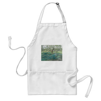 Olive tree in the garden standard apron