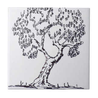 Olive Tree | South of France Tile