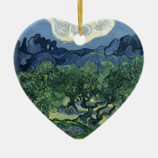 Olive Trees by Van Gogh Ceramic Ornament