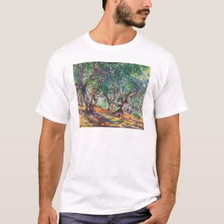 Olive Trees in Bordighera, 1884 Claude Monet T-Shirt