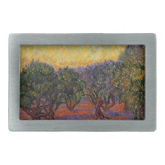 Olive Trees - Vincent Van Gogh Belt Buckles