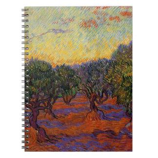Olive Trees - Vincent Van Gogh Notebooks
